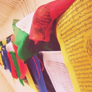Buddhist Peace Flags in Nepal